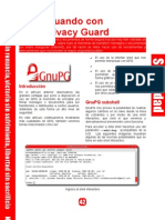 Interactuando con GNU Privacy Guard