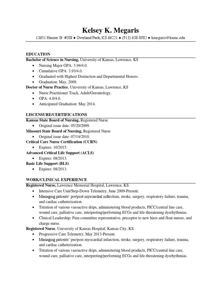 Resume nursing patient xflitez Image collections