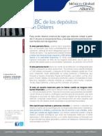 07 Boletin Mxga No.07 Impuestos -ABC Para Vender Dolares en Bancos