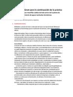 Coloración de Gram para la continuación de la práctica  Bacterias aeróbicas mesofilas viables de lodo activo de la planta de tratamiento de aguas residuales domésticas