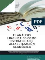 El Analisis Linguistico Estrategia Alfabetizacion