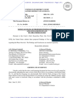 USAs Proposed Findings Phase I [Doc. 10460 - 6.21.2013]