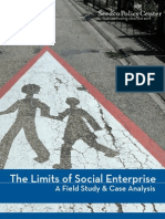 The Limits of Social Enterprise