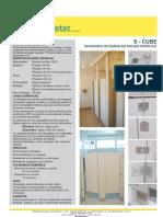 Divisiones de baño - solidofenolico