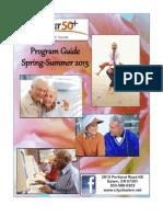 Center 50+ Program Guide