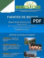 1 Fuentes de Biogas