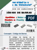 Cod. Barras Xavier.ppt