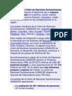 La misión de la Unión de Naciones Suramericanas