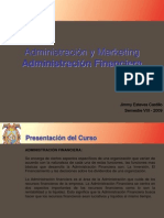 Administración y Marketing Administración Financiera