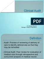 125855783 Clinical Audit