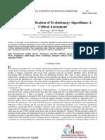 evolutionary algorithms classification