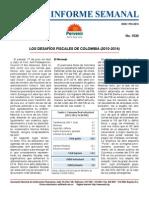 Desafíos fiscales en Colombia 2010-2014 ANIF