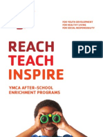 YMCA of Metro Atlanta After School Brochure