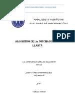 Algoritmos de La Ponchadura de Llanta