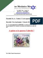 Parasha No.4 Vaiera a Quien Se Le Aparece Yahweh (1)