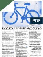 Programa USAL - Bicicleta, universidad y ciudad (2007)