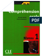 Comprehension Orale 1