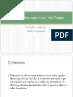 Efectos Extra Auditivos Del Ruido.