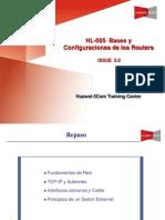 HL-005 Router Bases y Configuraciones Router(V5.0)