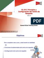 HL-010 Principios y Configuración del Centro de Respaldo(V5 0)