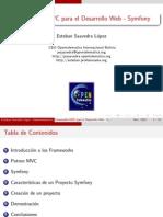 Symfony Framework para el desarrollo de aplicaciones web