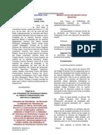 Pleno Jurisdiccional Nacional 1997