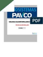 Alcantarillado n Manning PAVCO-RAS 2000 Pluvial(03!02!2011)