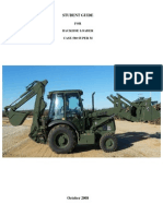 BackHoe Loader Student Guide