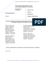 10466 - BP's Post-Trial Brief