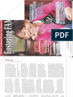 """Foster Families Today Magazine- """"Addressing Investigations Of Allegations Of Foster Parent Maltreatment"""""""