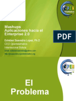Mashups Aplicaciones hacia el Enterprise 2.0