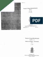 TSD Negi Sanskrit-Tibetan Dictionary Vol01 Ka-kha