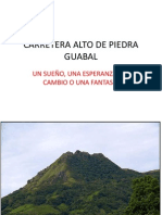 Carretera Alto de Piedra Guabal
