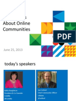 Get Serious About Online Communities