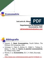 Econometrie cursul 1