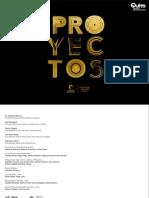 Mini Catálogo de Proyectos Premio Nuevo Mariano 2012