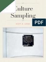 Culture Sampling