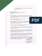 Carta de la RSMLAC a Embajada Perú -Bolivia