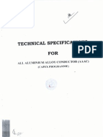 AAAC Technical Specifacations