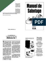 CIA Manuel de Sabotage