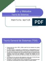 Organización y Métodos - Otoño 2013 - 02 - Teoría General de Sistemas
