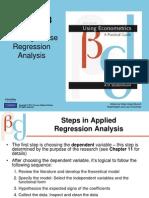 six steps in regression analysis by hasan nagra econometrics sir atif notes