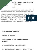 Antecedentes de La Contabilidad en El Peru