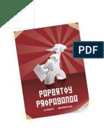 Paper Tom Paper Toy Propaganda