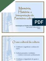 Memoria Historia Patrimonio