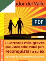 Recuperar a Tu Pareja. Salvador Del Valle