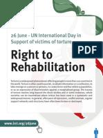 26th June - Right to Rehabilitation