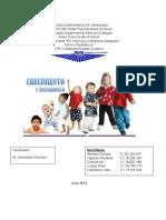 Evaluacion Del Crecimiento y Desarrollo