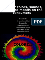 the effect of colors, sounds, moods and music on consumer
