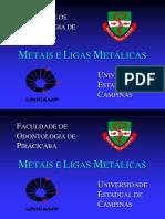 Metais e Ligas Metalicas